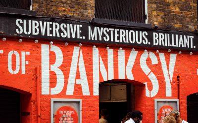 Banksy ohne Schutz? – der hoffnungslose Versuch des Künstlers Banksy seine Werke in der Anonymität zu schützen #31